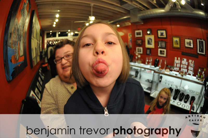 Artisan Cafe Grand Opening - Fish Eye Fun Sneak Peek!
