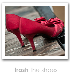 trash the shoes